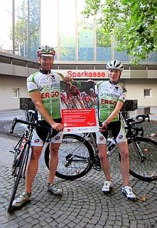 Torsten E. Günther (li.) und Julia Wiedemann