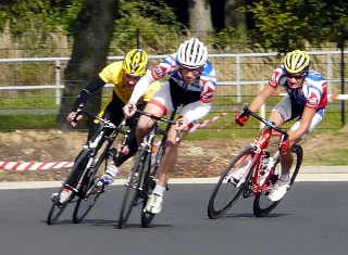 Radrennen am Riversplatz
