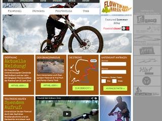 Internetseite Flowtrail Bad Endbach