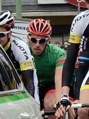 """Einer zwischen 185 Radprofis bei """"Rund um Köln"""" 2014: Jan-Niklas Droste ist ein Fahrer mit vielfältigen Fähigkeiten, die er überraschend oft unterschiedlich einzusetzen weiß. Foto: Weber"""