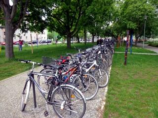 Fahrradstellplätze Landesgartenschau Gießen