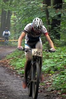 Mountainbikerennen in Pracht